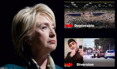 hillary clinton meme deplorable image tagged in hillary deplorable diversion imgflip