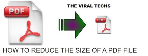 compress pdf according to size how to compress pdf files and reduce size the viral techs