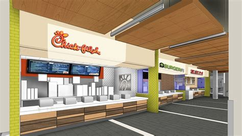 food court restaurant design renovated student center food court to feature popular
