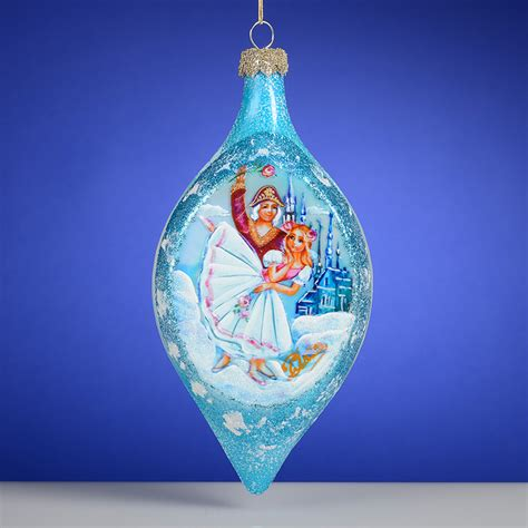 nutcracker russian glass christmas ornament the cottage shop