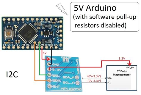 arduino disable pull up resistor i2c arduino pull up resistor i2c 28 images arduino and the two wire interface twi i2c including