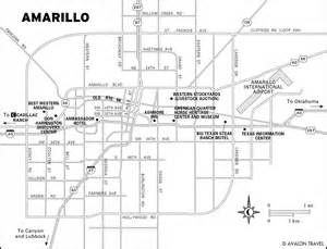amarillo map of map of amarillo