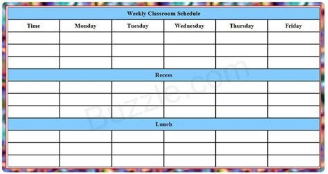 printable pa schedule ue 2012 25 b 228 sta class schedule template id 233 erna p 229 pinterest