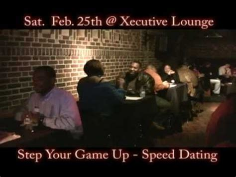8 Tips On Speed Dating by Quot Step Your Up Quot Speed Dating Event