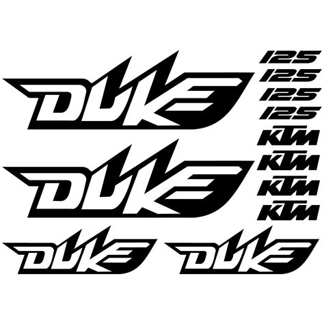 Ktm Aufkleber F Rs Auto by Stickers Ktm 125 Duke Pas Cher