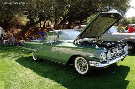el camino chevrolet monterey park auction results and sales data for 1960 chevrolet el