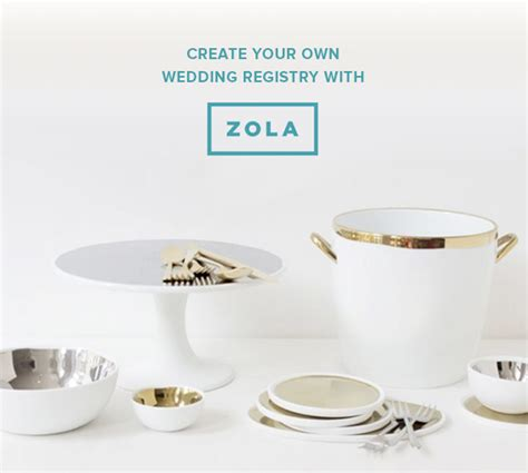 Wedding Zola by Zola The Wedding Registry For Modern Couples