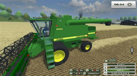 mod save game farming simulator 2013 mod john deere 9610 v 1 0 for farming