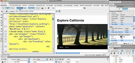 how to use templates in dreamweaver how to use live code when using 3 0 with adobe