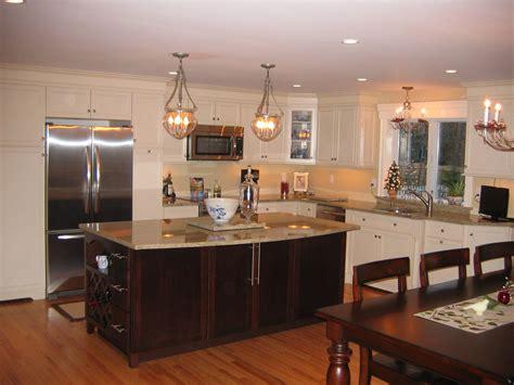 merillat kitchen islands kitchen with merillat masterpiece cabinets hadley door style maple with painted biscotti finish