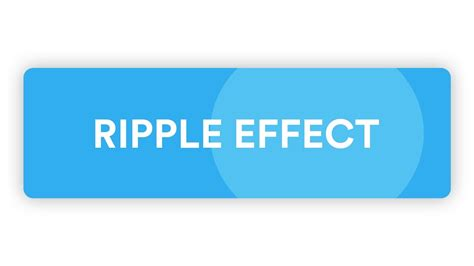 material design wave effect css simple material design ripple effect css js youtube