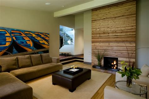 How To Decorate A Rectangular Living Room by Rectangle Modern Living Room Calgary By Rectangle