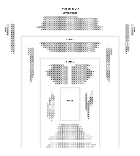 vic house seating plan much ado about nothing tickets vic theatre