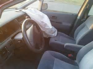 1995 honda odyssey passenger airbag deployed involuntarily