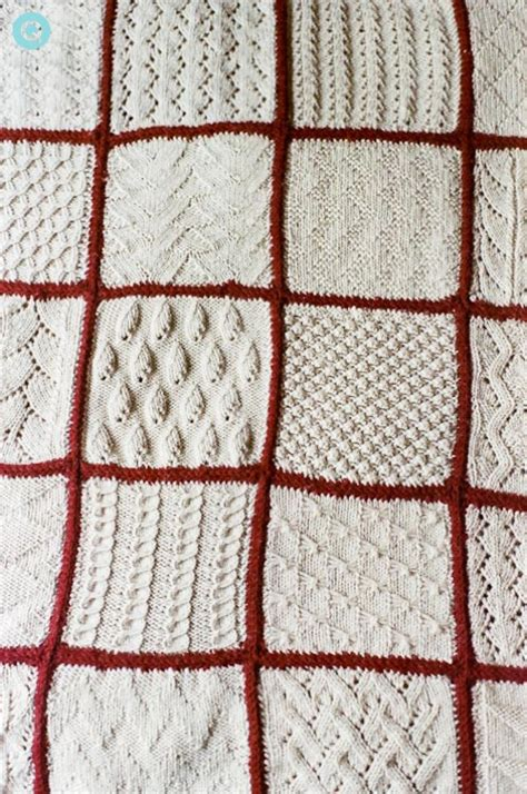 styles of knitting knitted blanket in every style q wedding