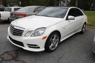 2012 E350 Mercedes 2012 Mercedes E350 Sport Sedan Diminished Value Car