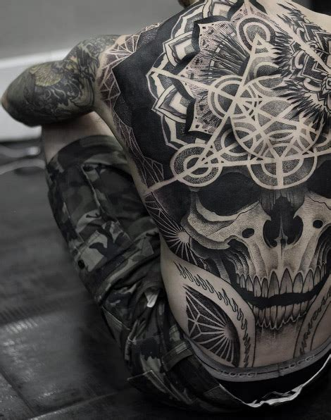 one piece skull tattoo 60 creative and unique tattoos for men tattooblend