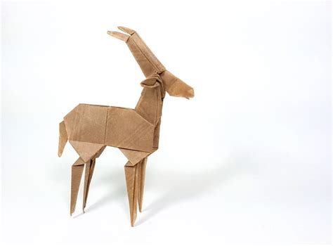 Origami Goat - origami sheep goats and bovides page 1 of 3 gilad s
