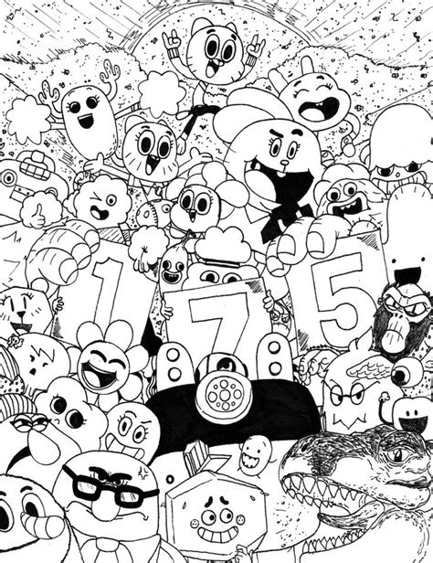 cartoon network coloring pages games 143 best images about amazing world of gumball on