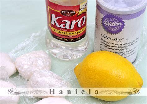haniela s gum paste recipe