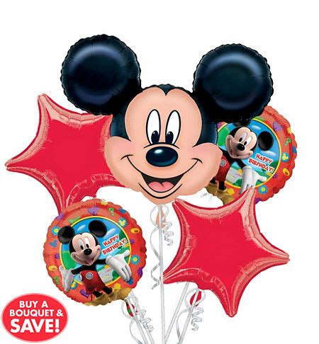 Balon Happy Birthday Mickey Mouse 22094 mickey mouse balloons city