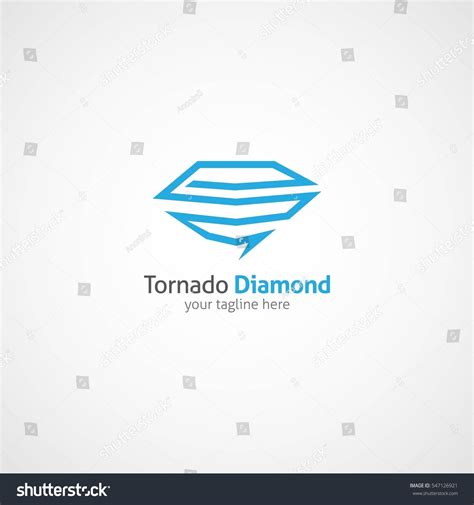 tornado logo design template vector illustration stock