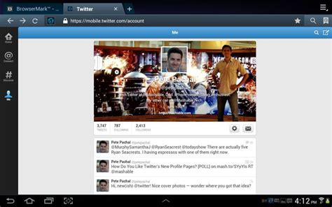 change layout landscape android twitter s new profile pages look horrible on android
