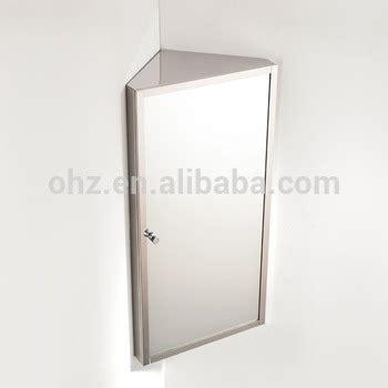corner bathroom mirror cabinet suppliers wall hanging stainless steel small corner mirror cabinet