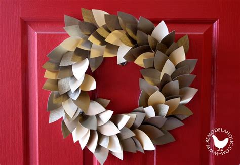 christmas decoration using recycled materials remodelaholic 35 paper decorations to make this season