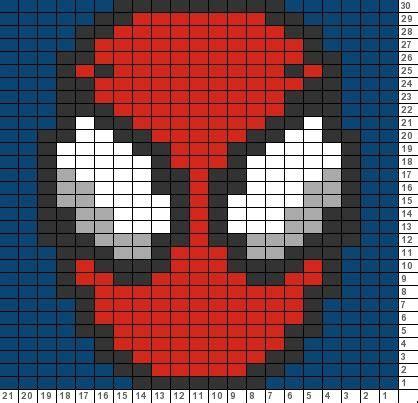 spiderman graph pattern tricksy knitter charts spider man 73385 77246 visit