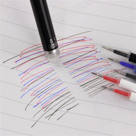0 5mm Gel Ink Pen Refill 0 5mm magic erasable needle gel ink pen refill
