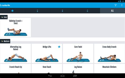 free runtastic six pack abs workout to motorola