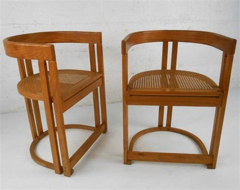 Vermont Tubbs Furniture by Pair Mid Century Modern Style Vermont Tubbs Seat Side
