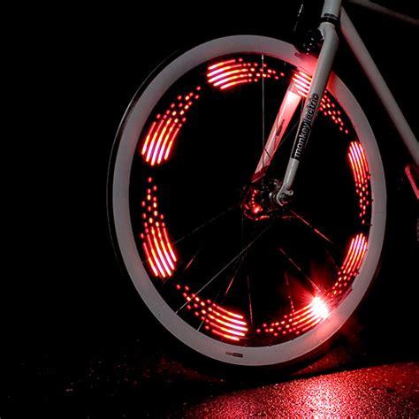 monkeylectric monkey light animated bicycle spoke lights