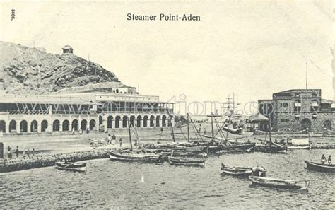 foreign topographical postcards aden