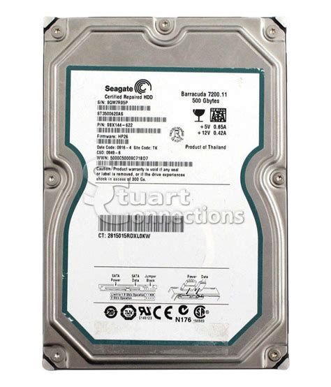 Hardisk Seagate 500gb Second seagate 500 gb sata disk buy rs