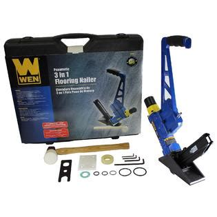 WEN 3 in1 Pneumatic Hardwood Flooring Nailer
