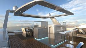 Flat Roof House luxurious houseboat boasts king size beds a jacuzzi and