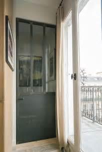 portes de cuisine en acier et verre les ateliers du 4