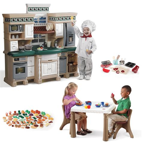 deluxe kitchen play set combo step2