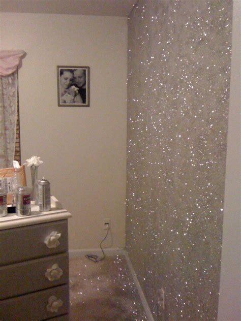 Glitter Decorations For Bedroom by 23 Glorious Sparkle Wall Ideas Glitter
