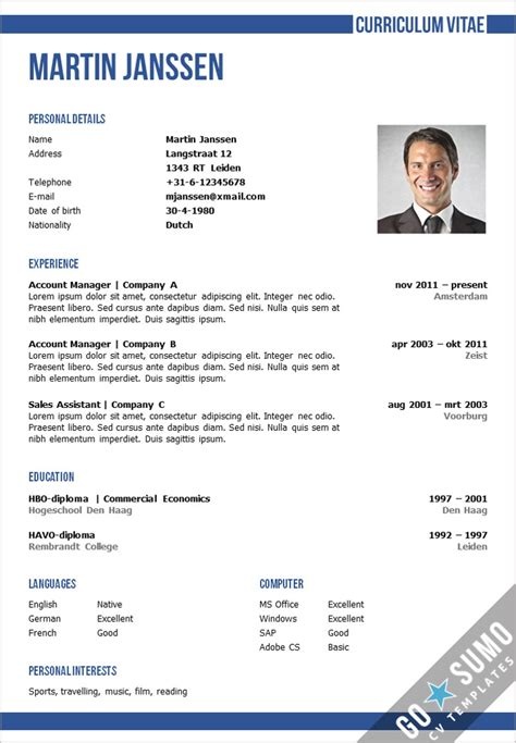 oxford cv template cv template oxford go sumo cv template