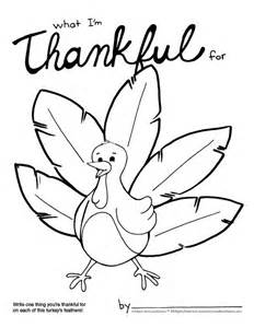Thanksgiving Coloring Page What I M Thankful For Thankful Coloring Pages