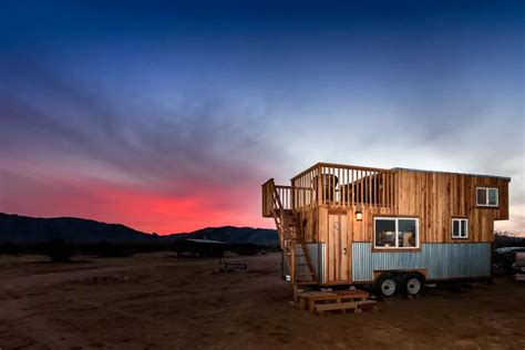 tiny house with deck tiny house with rooftop deck 5