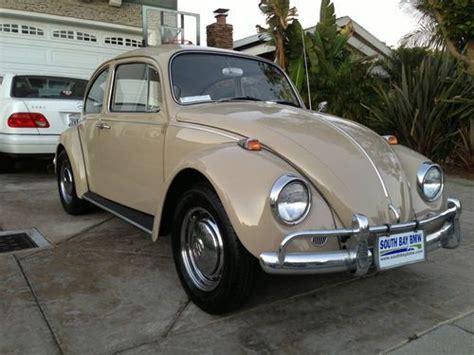 find   vw bug volkswagen beetle tan savannah beige rare classic  redondo beach