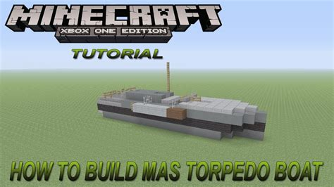minecraft ww1 boat minecraft xbox edition tutorial how to build ww1 mas