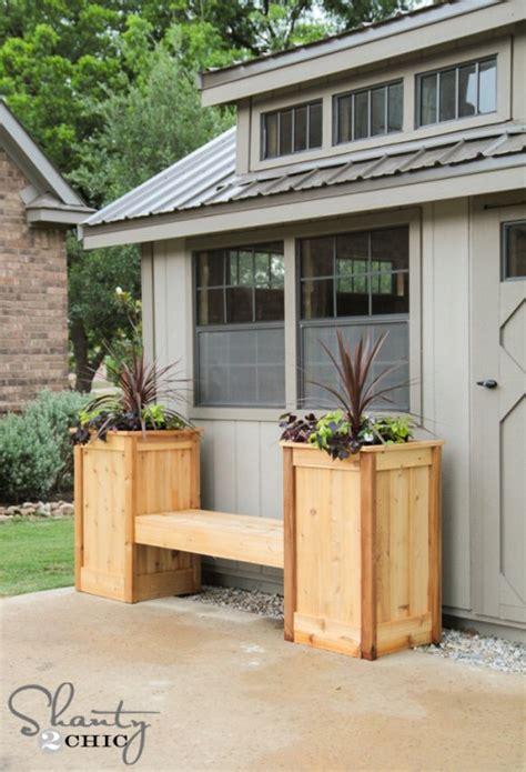 planter box bench plans diy planter box bench tinytipsbymichelle