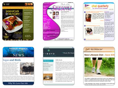 custom templates create a custom newsletter template with benchmark