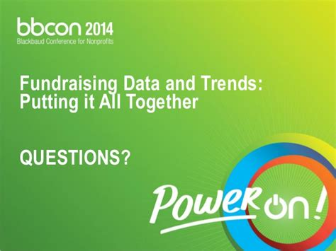 Putting It Together Black by Fundraising Data Trends Putting It All Together