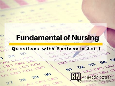 fundamentals of nursing critical thinking questions